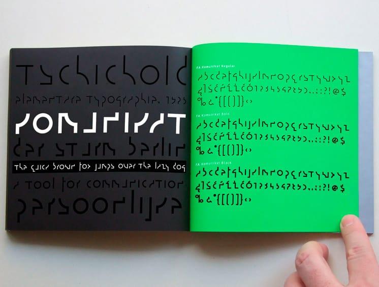 Władysław Strzemiński's universal alphabet, d-file