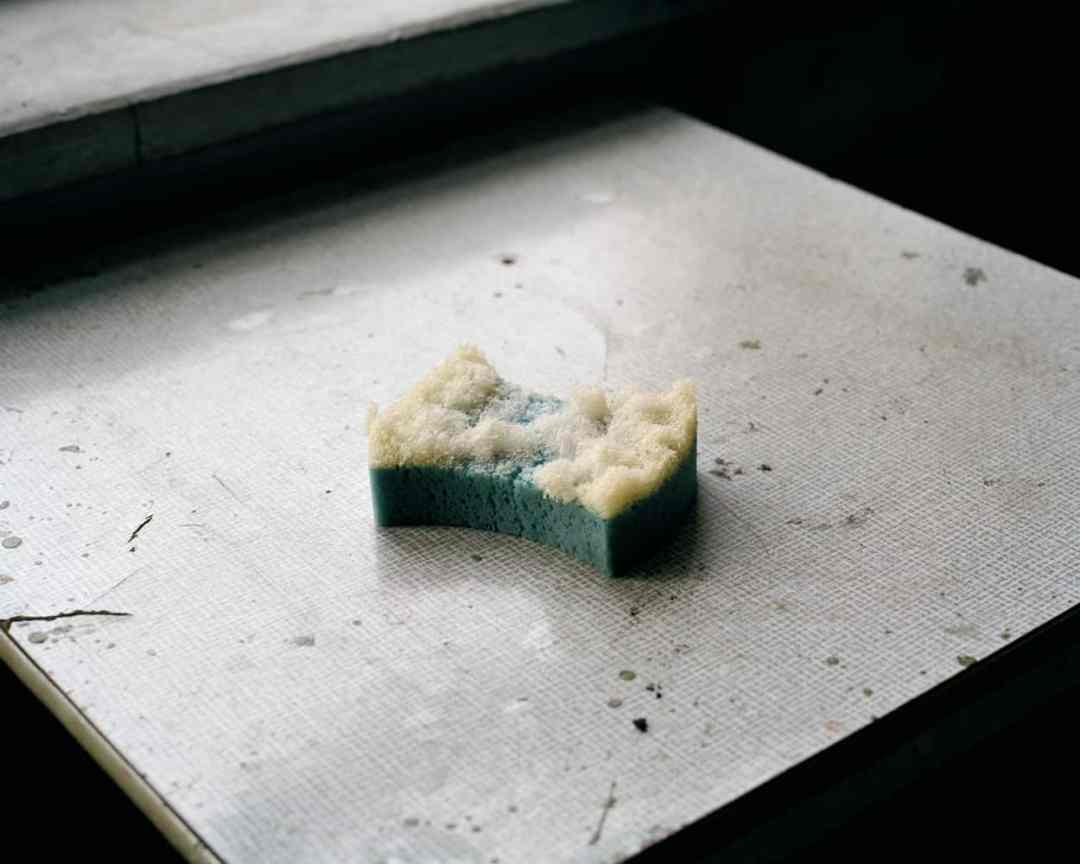Darek Fortas, Still Life IV (Sponge), from the series 'Coal Story'; (2011), Courtesy the artist.
