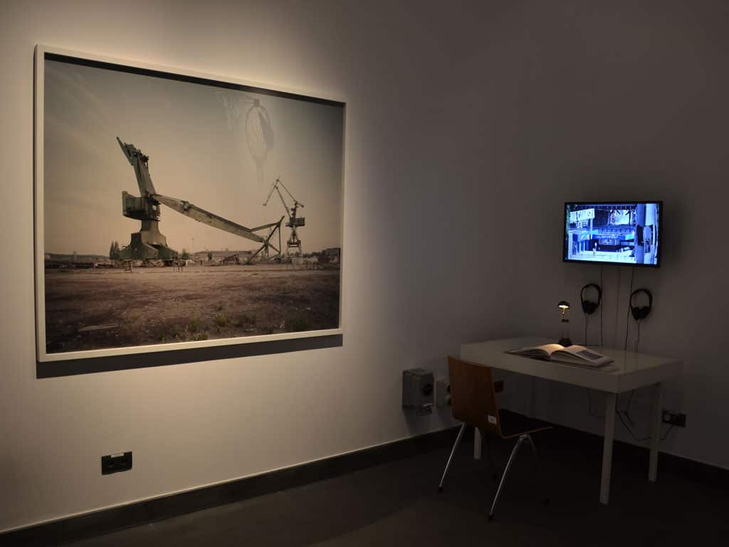Michał Szlaga, Series Shipyard 1999 – 2014, photo, 180x140 cm, video, 2014