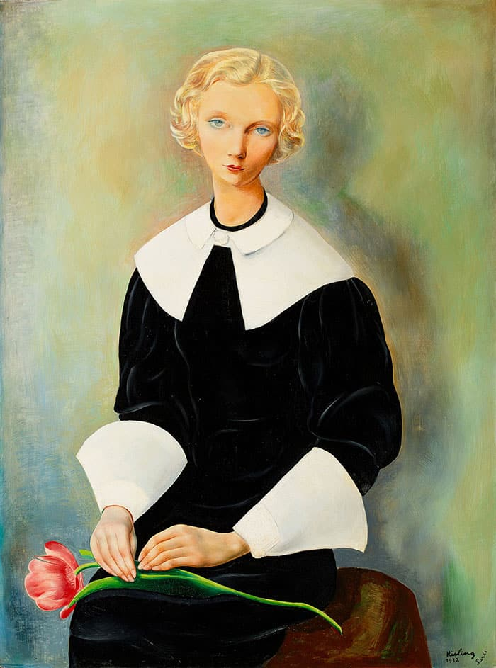 Mojżesz Kisling, Ingrid, 1932, oil on canvas, 111 x 83 cm.