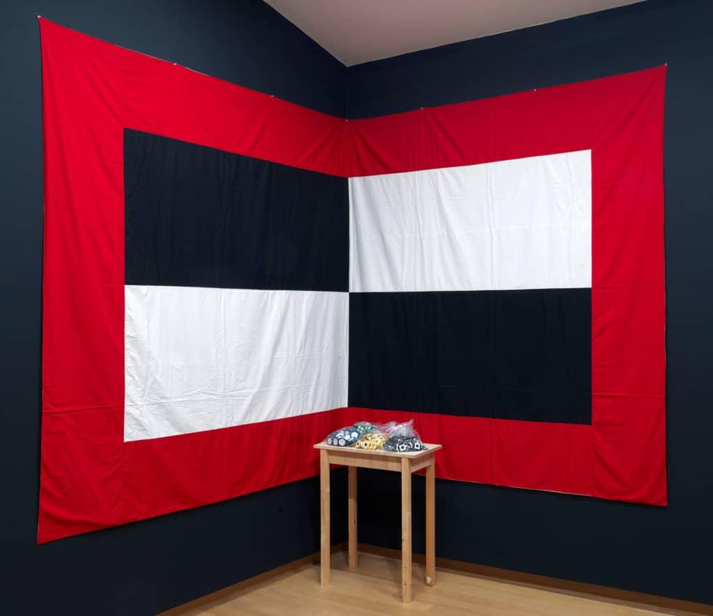 Matt Mullican, Subject Driven, 1978-2008. Collection Stedelijk Museum Amsterdam, acquisition Thomas Borgmann, Berlin. (Installation Stedelijk Museum November 2017. Photo: Gert Jan van Rooij)