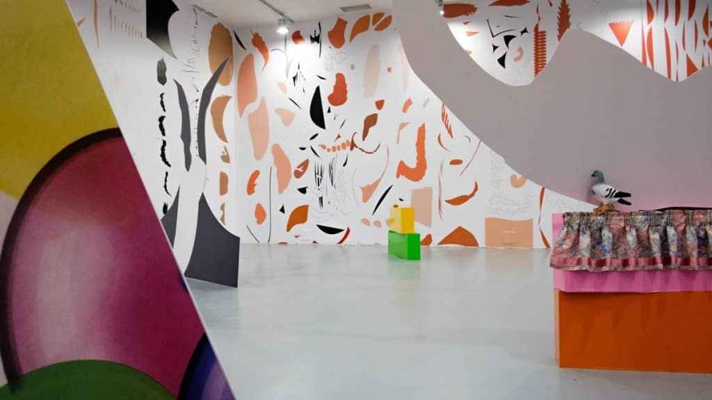 "Mixed-media, ""Excavations"", U-Jazdowski Center for Contemporary Art"