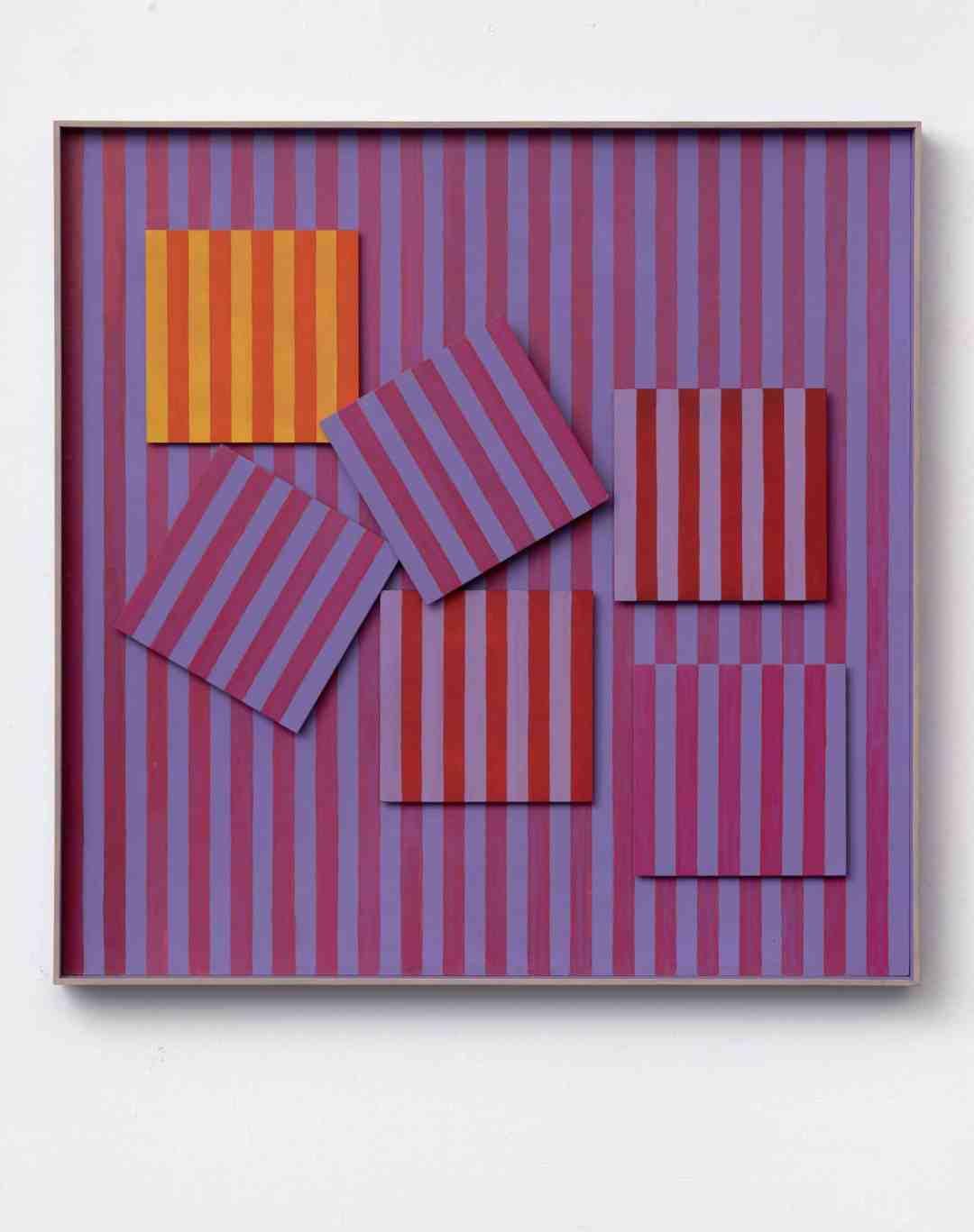Henryk Stażewski, Relief No. 18, 1969, Starmach Gallery