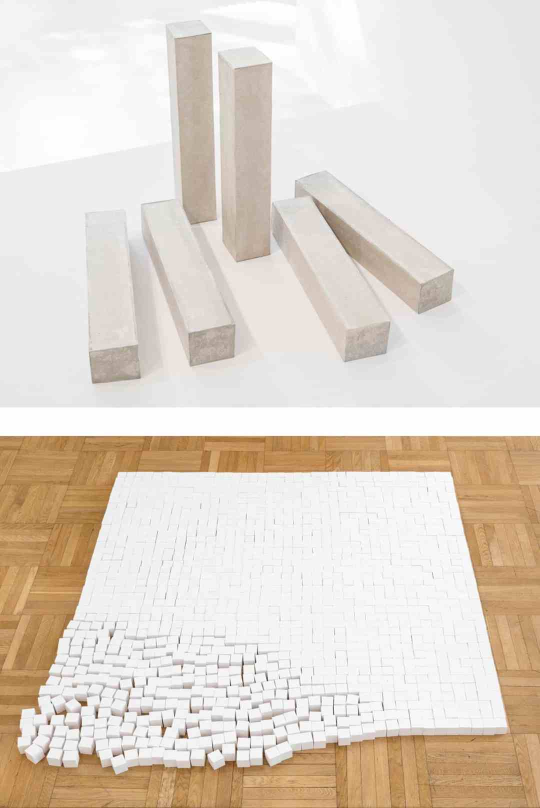 1. Michał Budny_Space of Painting (after Agnes Martin's Untitled, 1978), 2018_Galerie Nordenhake 2. Michał Budny_2018_Space_Painting_Spactrum_Galerie nächst St. Stephan Rosemarie Schwarzwälder