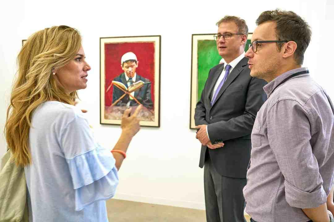 Oktem Aykut, Courtesy LISTE - Art Fair Basel, photo: Daniel Spehr