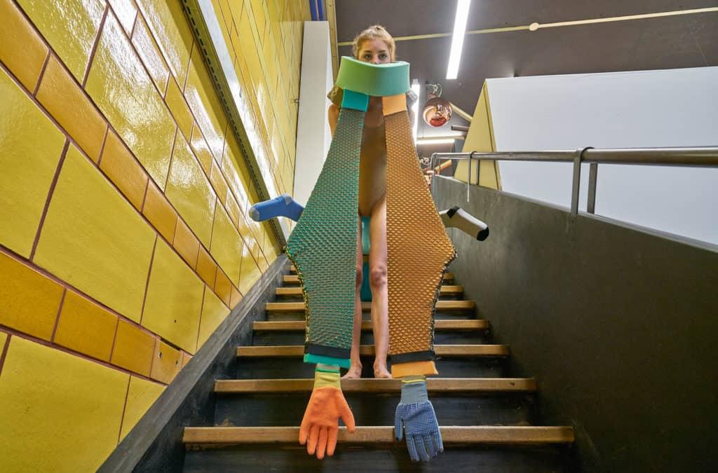 Performance Daniel Jacoby, Courtesy LISTE - Art Fair Basel, photo: Daniel Spehr