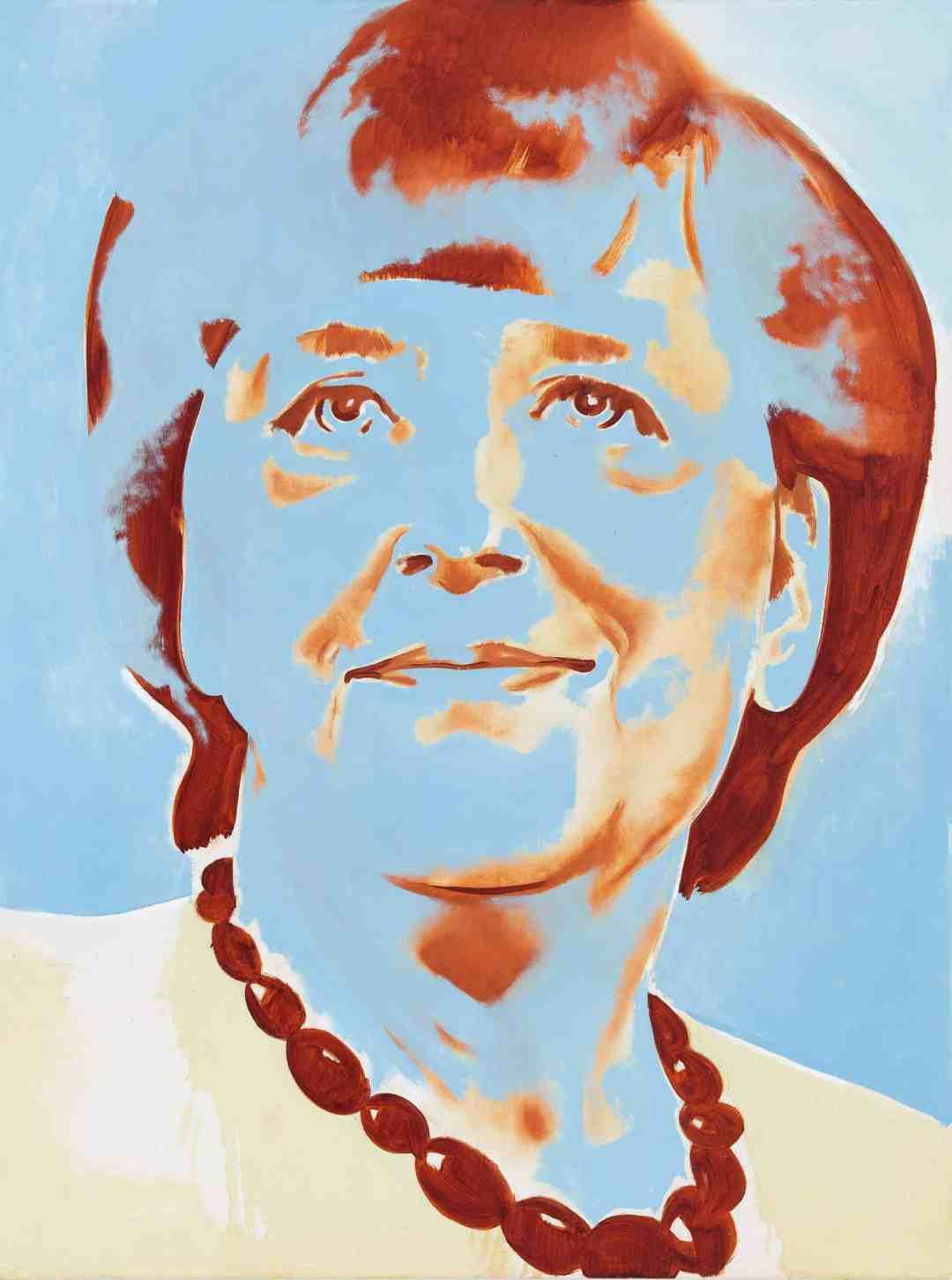 Wilhelm Sasnal, Angela Merkel, Anton Kern Gallery