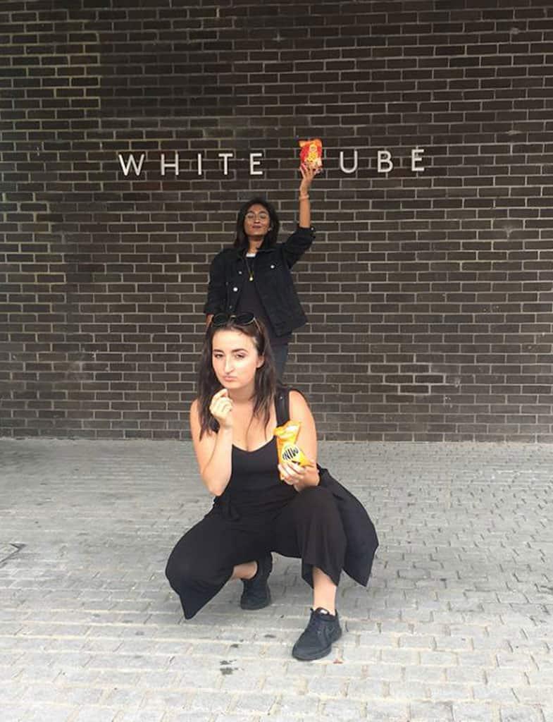white pube