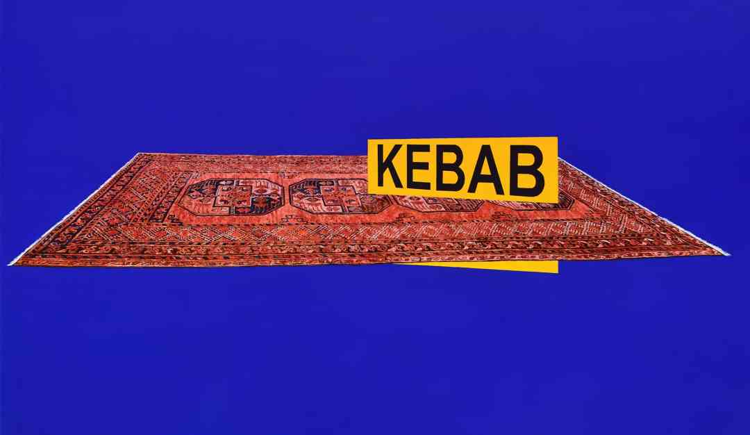 Dyndo Wiktor, One Thousand and One Nights, Kebab, 2018, oil paint on canvas, 100x160cm, photo: Adam Gut