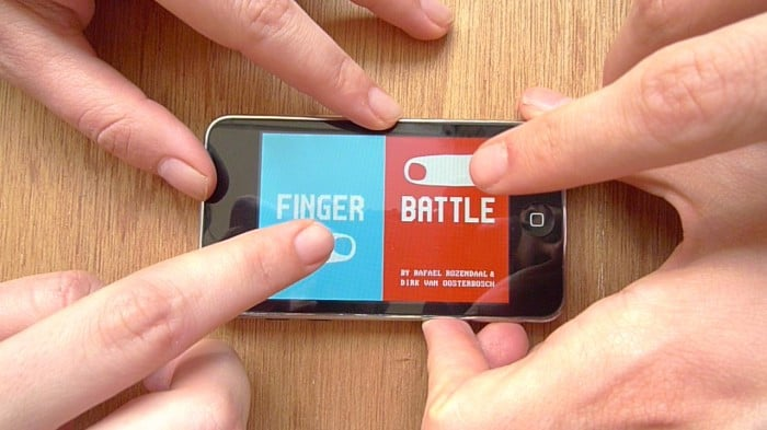 Finger Battle, Rafael Rozendaal