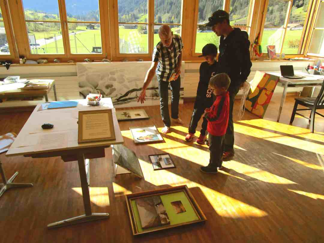 Contemporary Art Residencies in the Swiss Alps, The Alpine village of Feutersoey