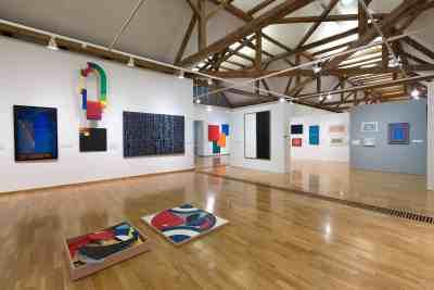 AbstrakcePL, Muzeum moderního umění Olomouc, Trojlodí, photo Zdeněk Sodoma (10)
