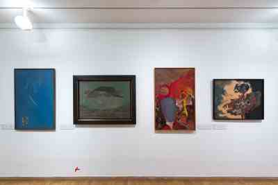 AbstrakcePL, Muzeum moderního umění Olomouc, Trojlodí, photo Zdeněk Sodoma (24)