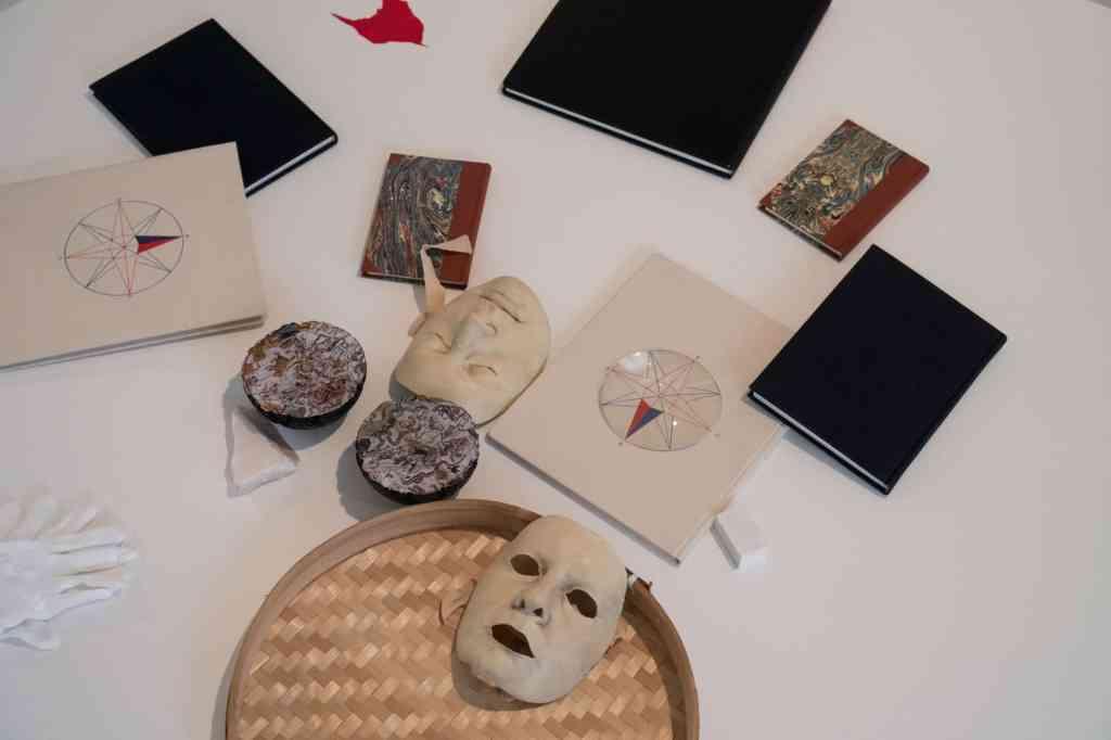 Marta Węglińska, 'Tendency To Collapse' – exhibition, Zachęta Project Room, photo Weronika Wysocka.
