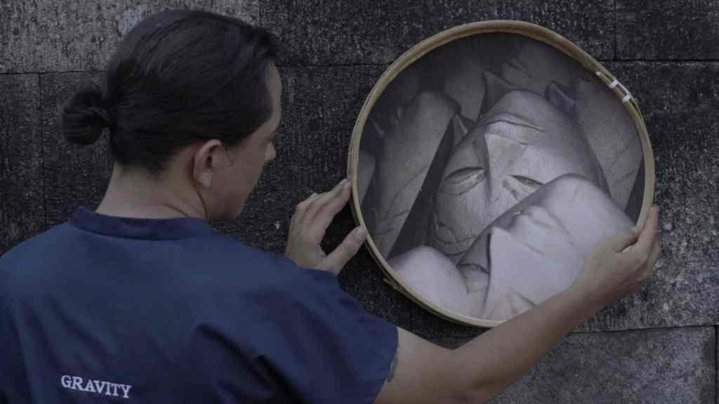 Marta Węglińska, 'Tendency To Collapse' – exhibition, Zachęta Project Room, still from the movie.