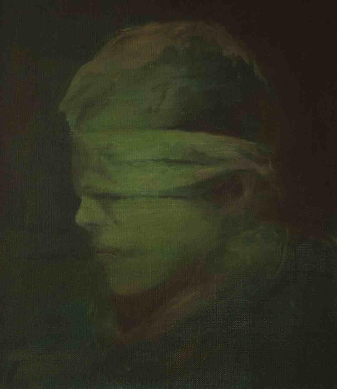 Bez tytułu, 35 x 40 cm, olej na płótnie, 2015