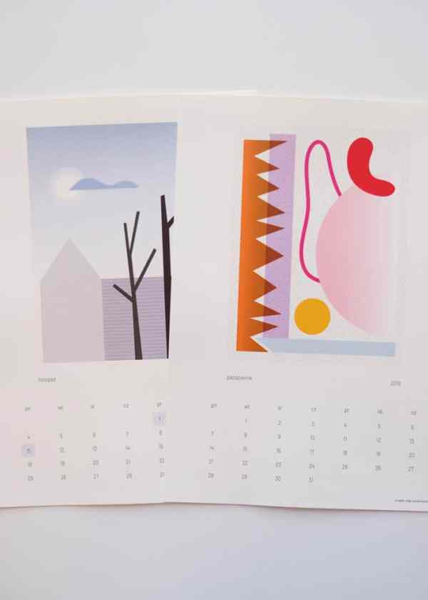 Olga Szczechowska_calendar_polish design