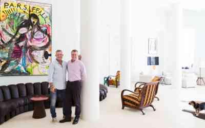 ADRIAN RIKLIN AND ANTONIS STACHEL | ART COLLECTORS