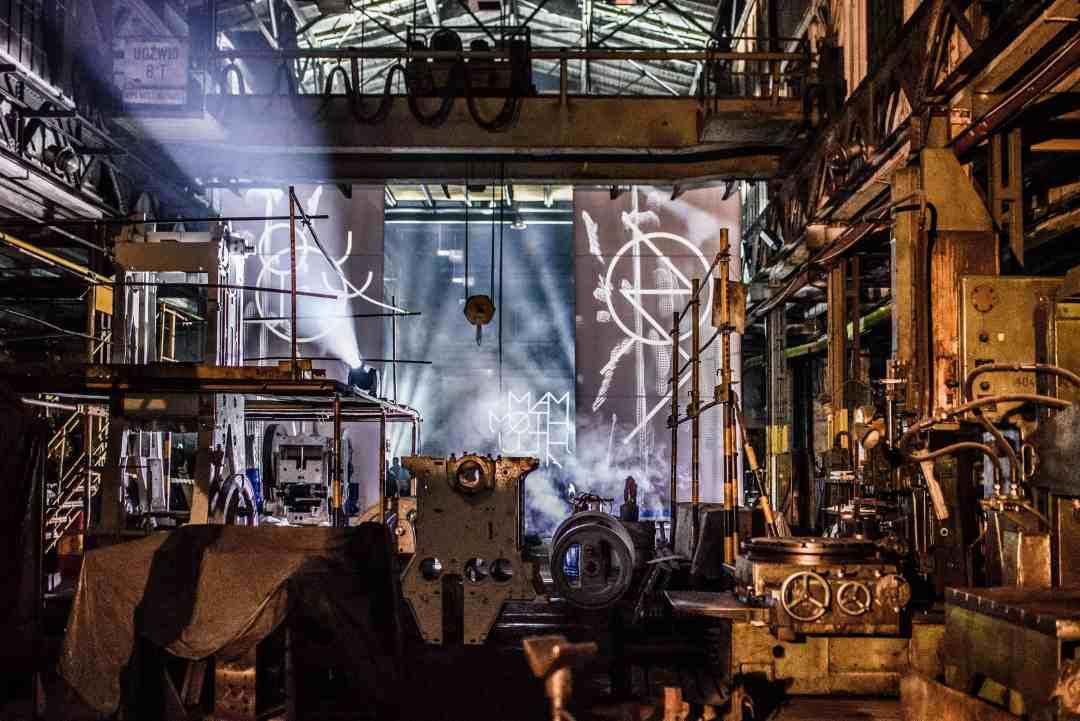 Āmurs audio-visual performance, FOD in Bydgoszcz, photo by Darek Gackowski