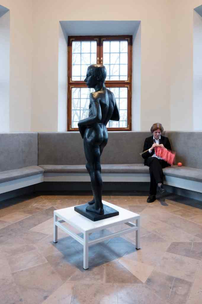 Maja Bekan, Essential Environment No.4 Social Room (2017) installation view of the exhibition: Maja Bekan, 23 Assemblies (2017). Photo: Bartosz Górka, courtesy of Ujazdowski Castle Centre for Contemporary Art