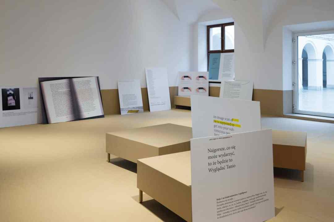 Maja Bekan, installation view of the exhibition: Maja Bekan, 23 Assemblies (2017). Photo: Bartosz Górka, courtesy of Ujazdowski Castle Centre for Contemporary Art
