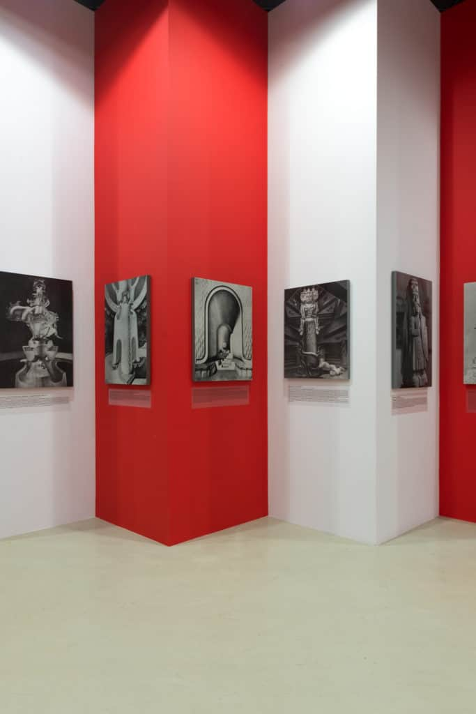 """Exhibition view """"Late Polishness. Forms of national identity after 1989"""" at Ujazdowski Castle Centre for Contemporary Art, photo: Bartosz Górka"""