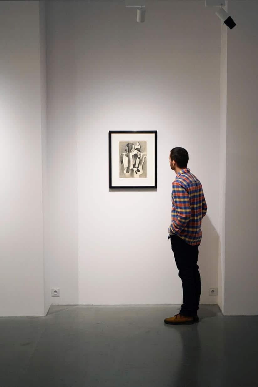 Karol Hiller, Heliographs, exhibition view, courtesy Olszewski Gallery