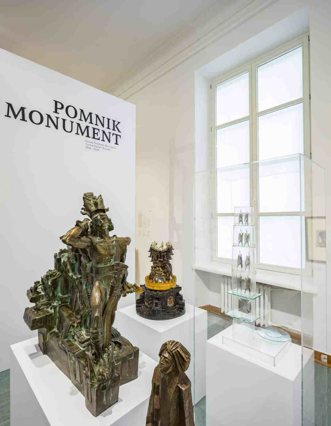 'MONUMENT. Central and Eastern Europe 1918–2018' exhibition, The Xawery Dunikowski Museum of Sculpture, © Ernest Wińczyk / MNW Królikarnia