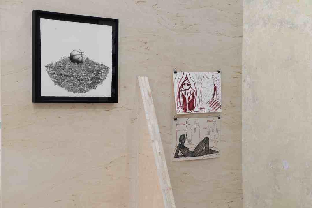 Bartosz Zaskórski, Temporary Storeroom – Drawing Case Study 2, plato