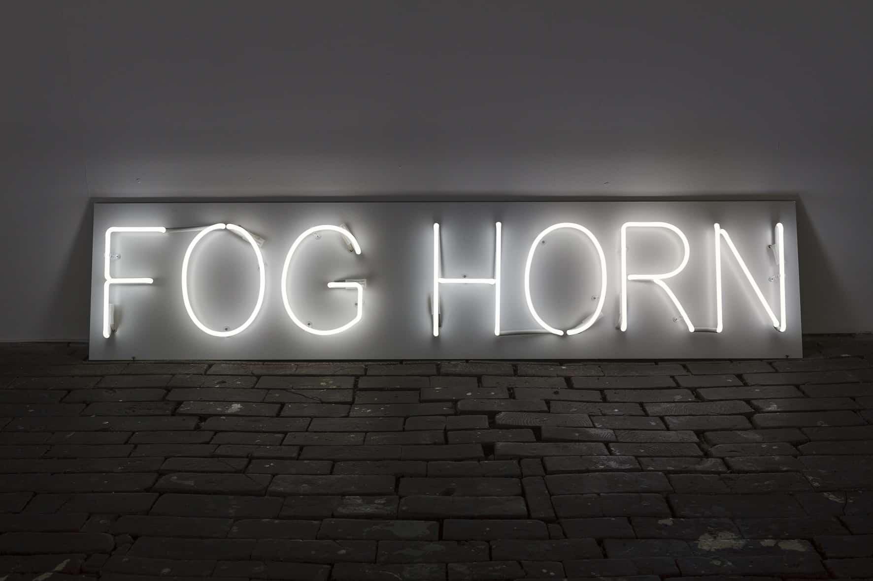 Foghorn exhibition