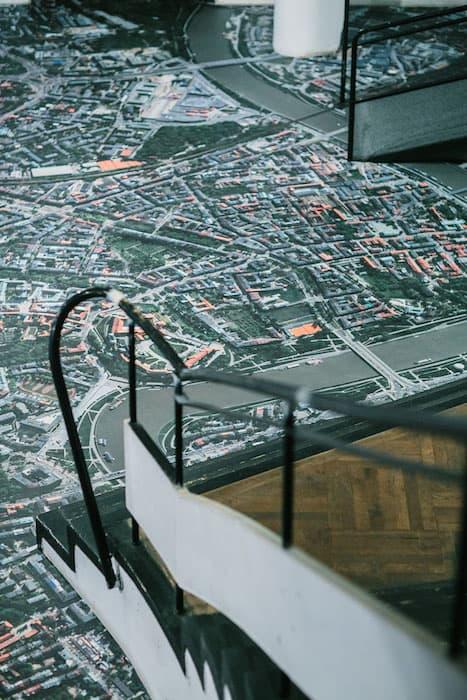 Mikołaj Długosz, Cracow- air photo, 2014, site specific, courtesy: the Bunkier Sztuki Gallery, photo: FilmLove Studio