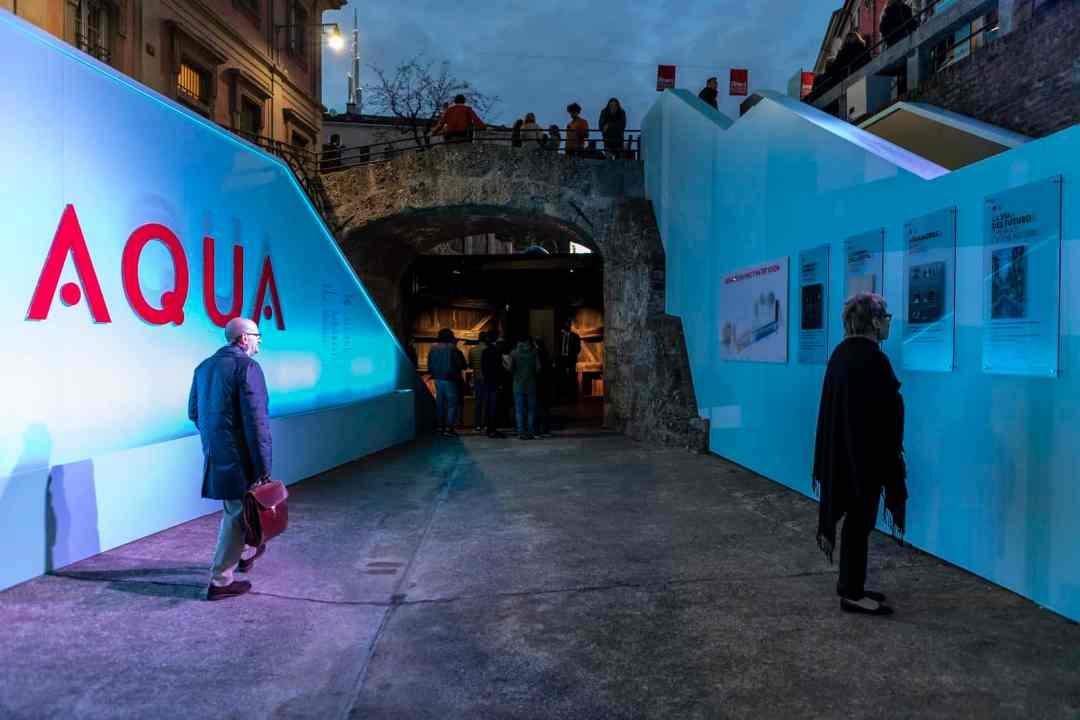 AQUA. La visione di Leonardo, Salone del Mobile 2019