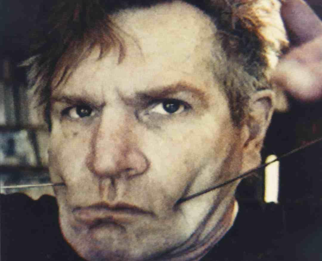 Józef Robakowski, from the series: My Photo—Videomasochisms, 1989