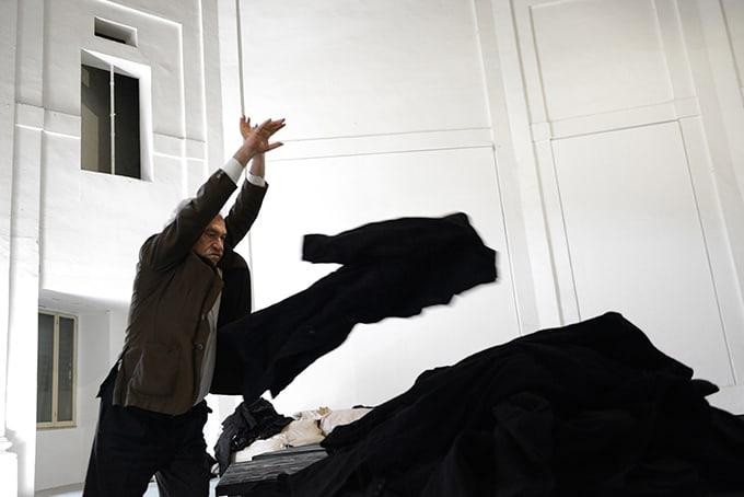 Jannis Kounellis, Centro Arti Visive Pescheria, Pesaro 2016. Foto Michele Alberto Sereni