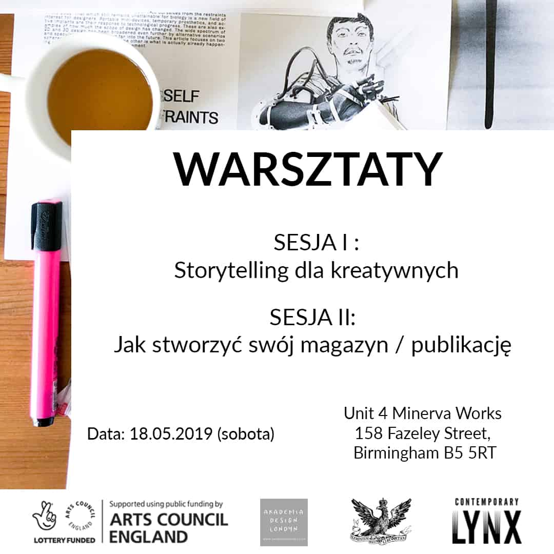 Storytelling for creatives & How to make a magazine - workshops