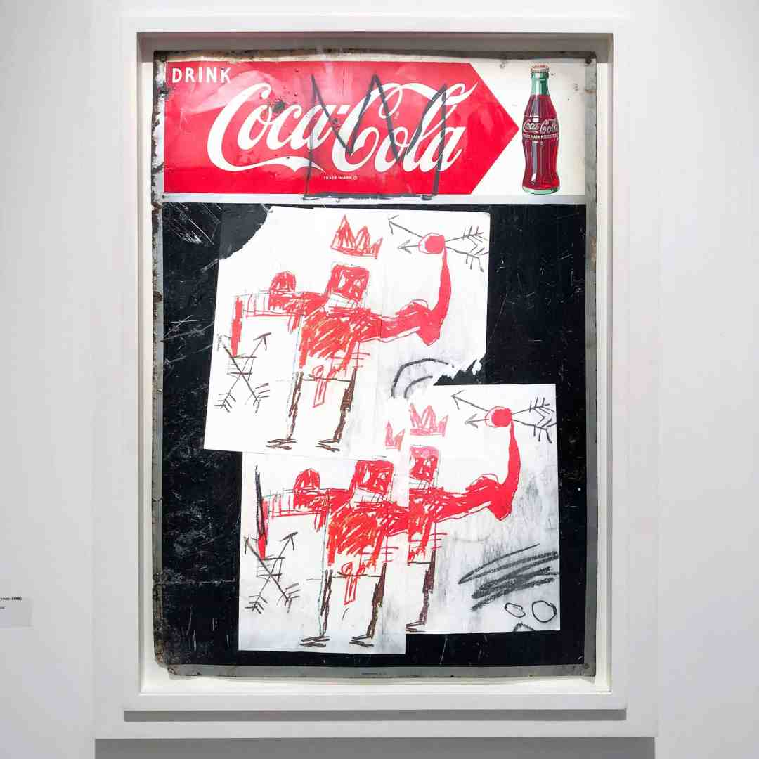 Jean-Michel Basquiat, Untitled (Coca-Cola)