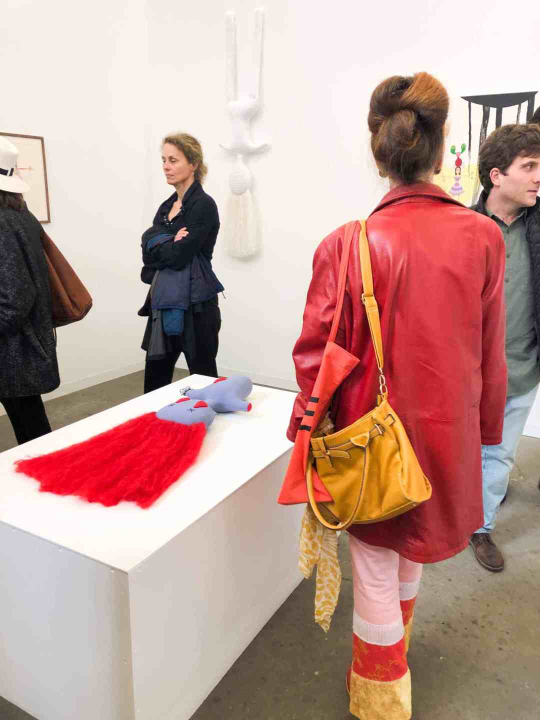 Arcadia Missa and Sandy Brown, solo show by Penny Goring