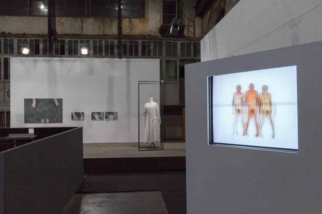 """Katarzyna Kozyra, """"Stories of Old Age"""", exhibition, the Arsenal Gallery in Białystok, photos by Maciej Zaniewski, from the archives of Gallery Arsenal in Bialystok"""