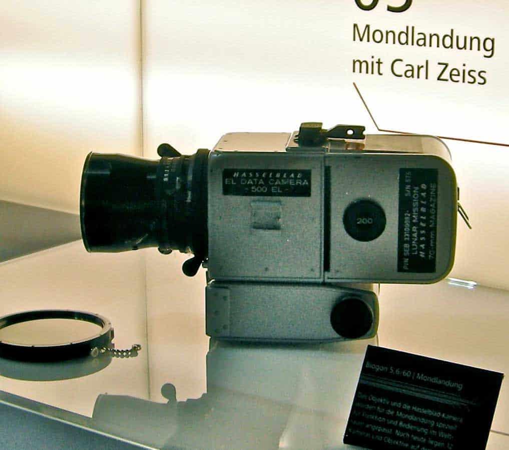 Hasselblad 500 EL, Moon Camera.