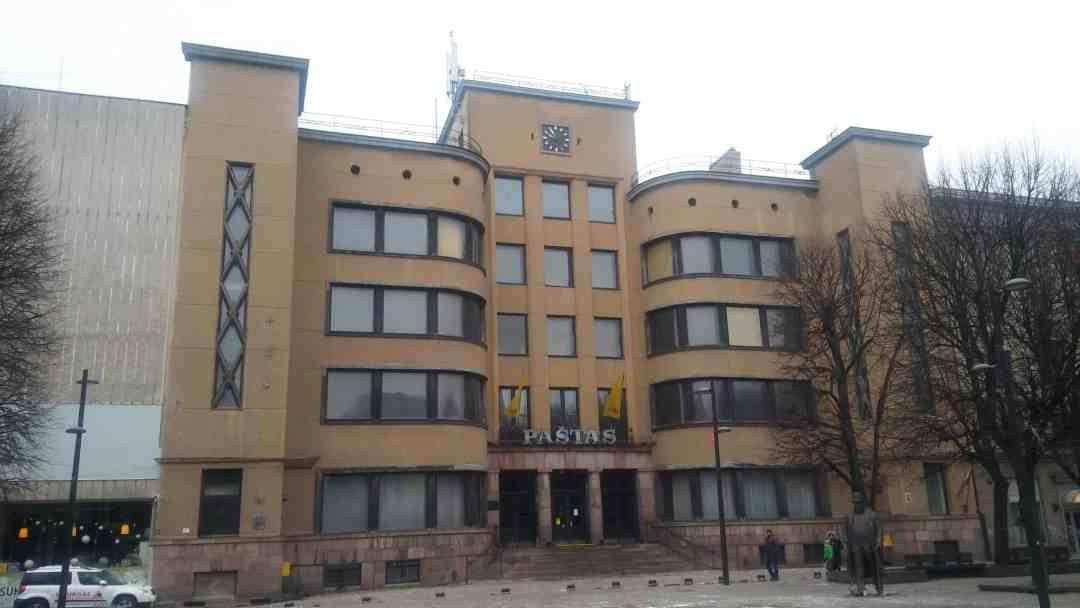 Kaunas, Central Post Office, 2018, photo: H. Postawka-Lech