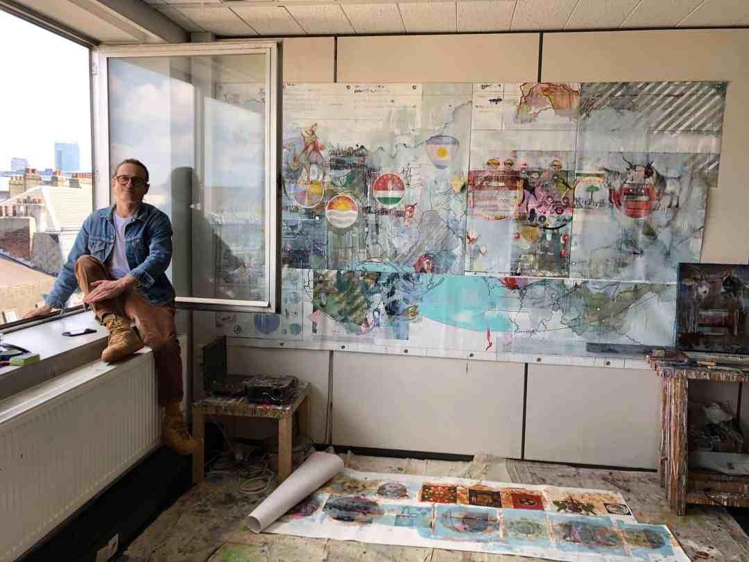 Radek Szlaga studio visit
