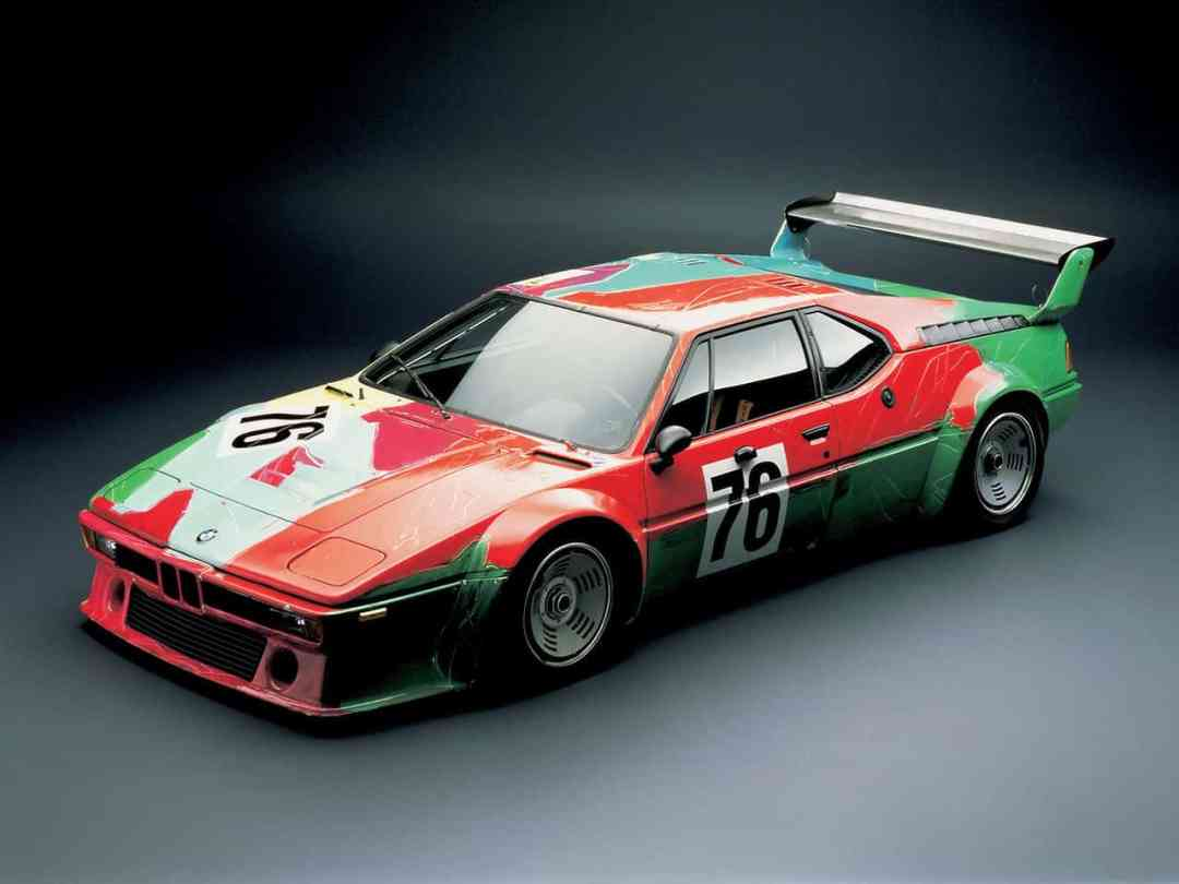 Andy Warhol, BMW M1 group racing version, 1979