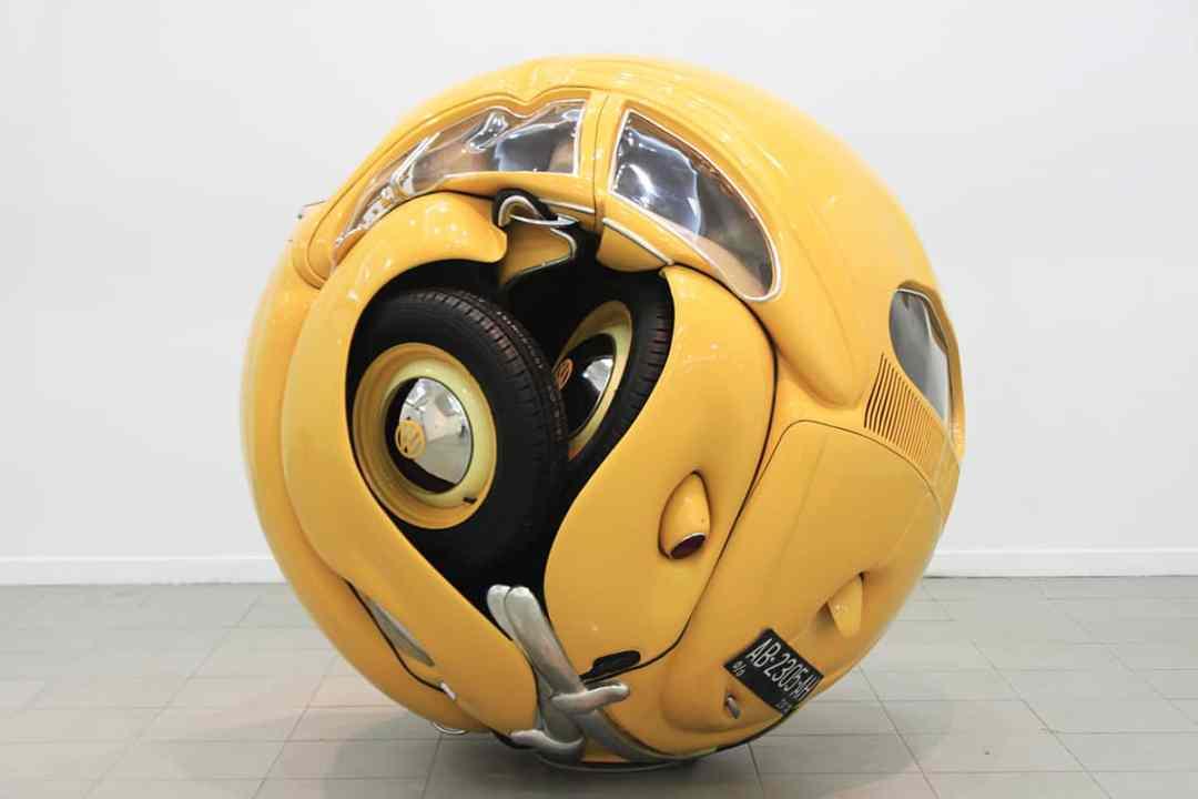 Ichwan Noor, Beetle Sphere, 2017