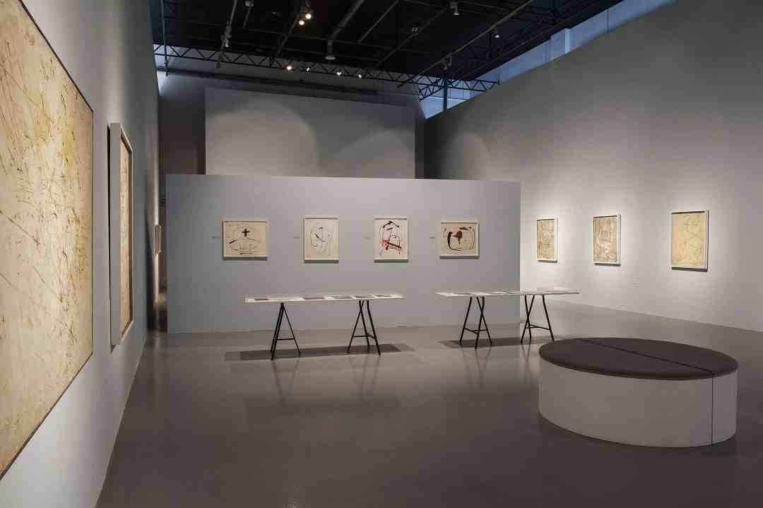 "'Franciszka Themerson. Lifelines"" exhibition, Centre of Contemporary Art Łaźnia in Gdańsk, photo: Bogna Kociumbas"