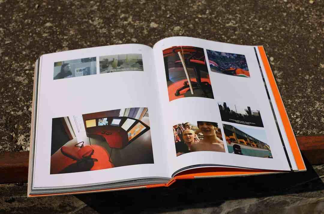 "Marcin Dudek, ""The crowd man"", artbook"