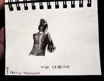 Mariusz Tarkawian Break my art event (2)