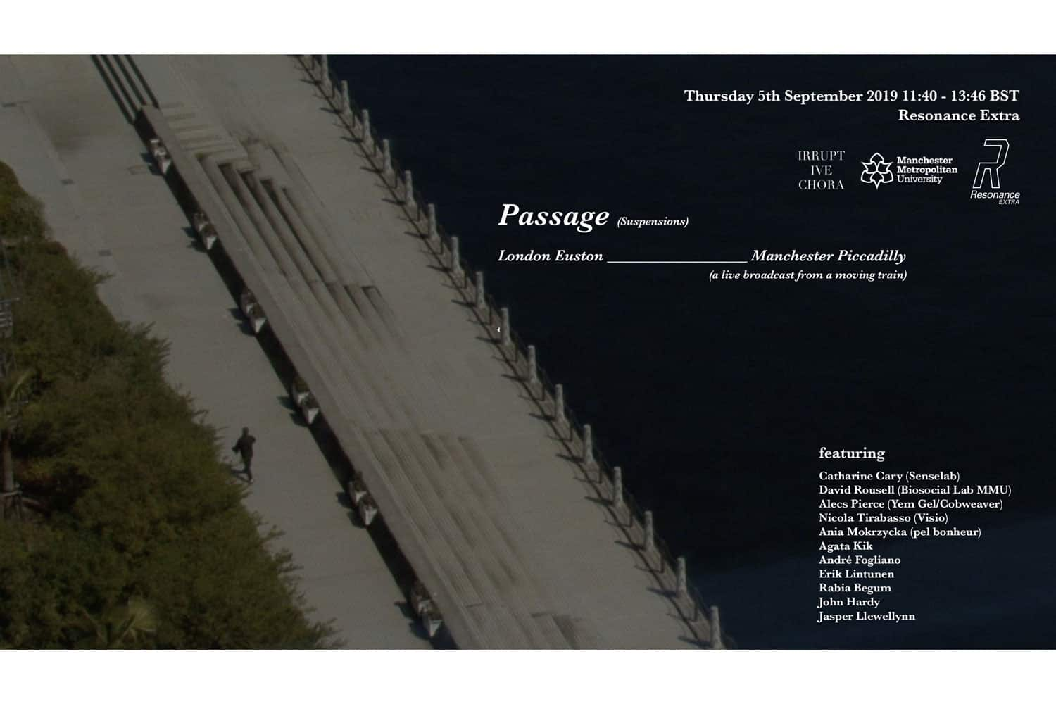 passage event London
