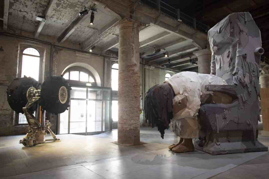 Yin Xiuzhen, Various works, 2012-2017, Mixed media, 58th International Art Exhibition - La Biennale di Venezia, May You Live In Interesting Time, photo by: Italo Rondinella, Courtesy: La Biennale di Venezia