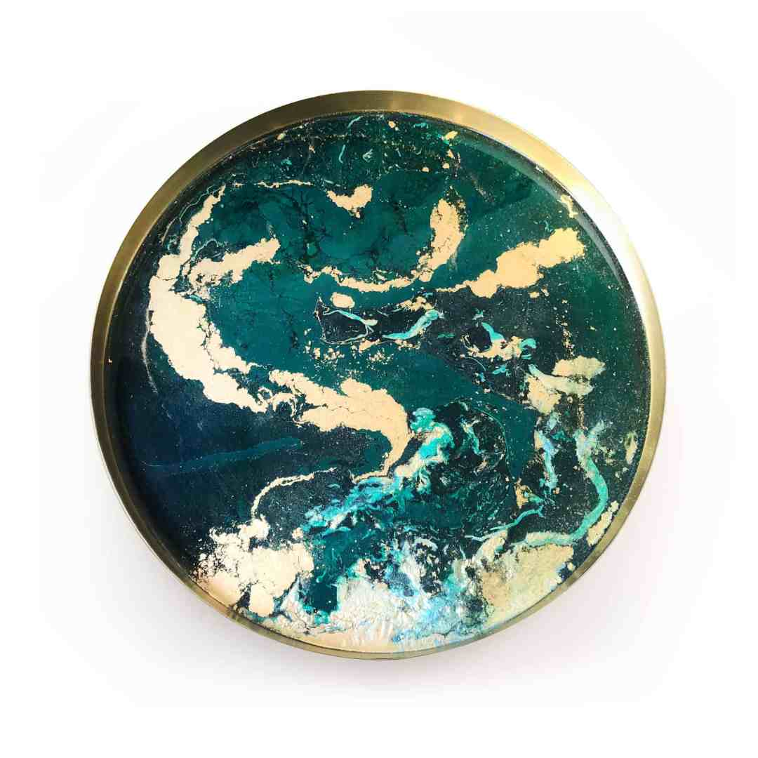 Styrylska Design – a tray like a planet