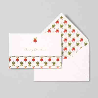"""Snowman"" card 